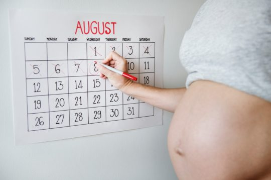 zwanger buik kalender - small